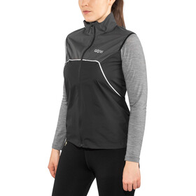 GORE WEAR R7 Partial Gore-Tex Infinium Liivi Naiset, black/terra grey